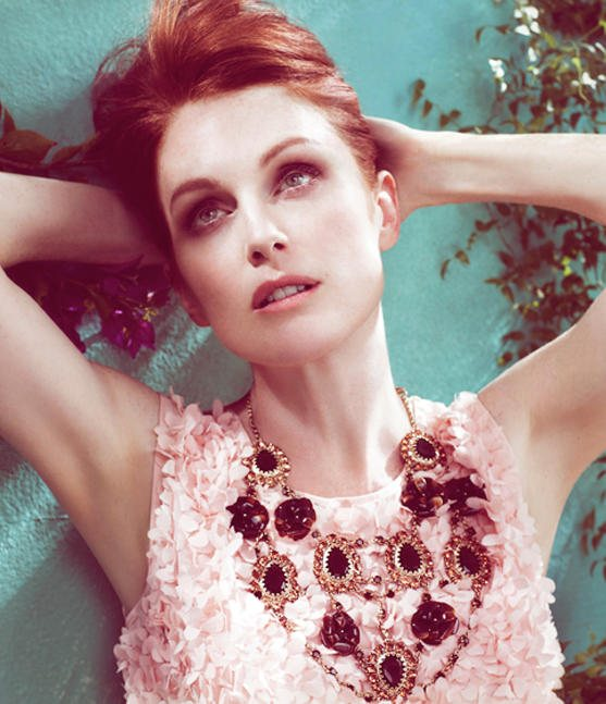Julianne Moore Talbots Spring 2011 Campaign 1