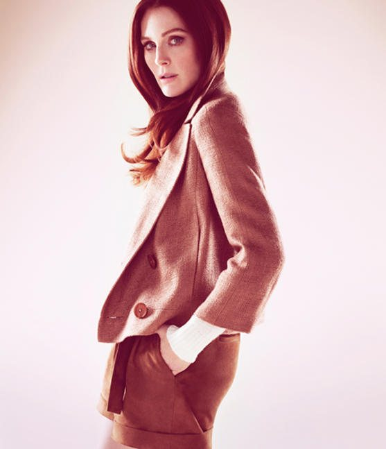 Julianne Moore Talbots Spring 2011 Campaign 2