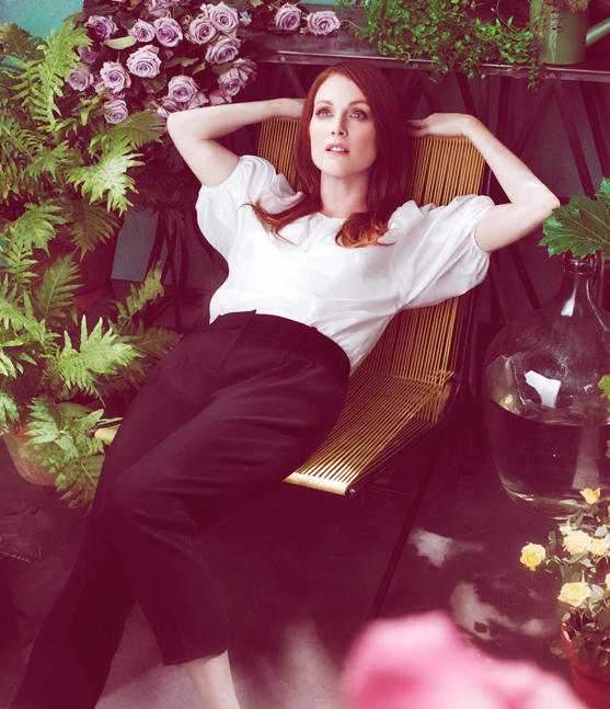 Julianne Moore Talbots Spring 2011 Campaign 3