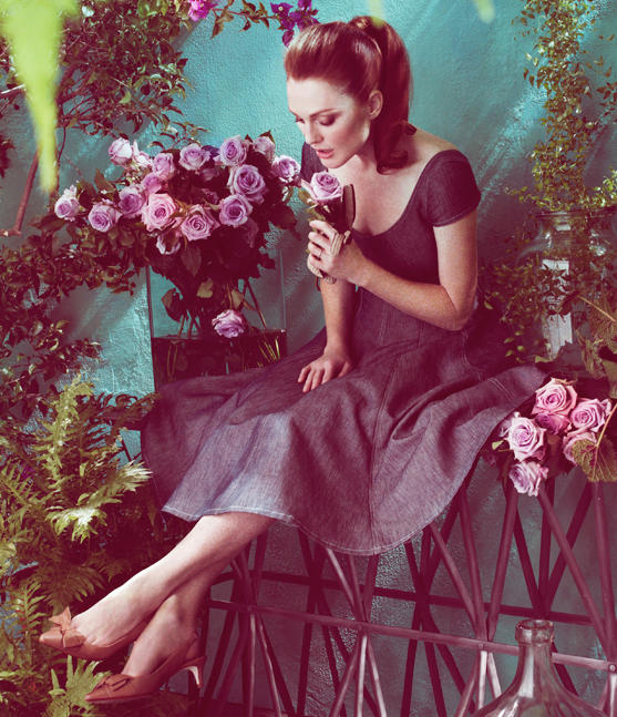 Julianne Moore Talbots Spring 2011 Campaign 5