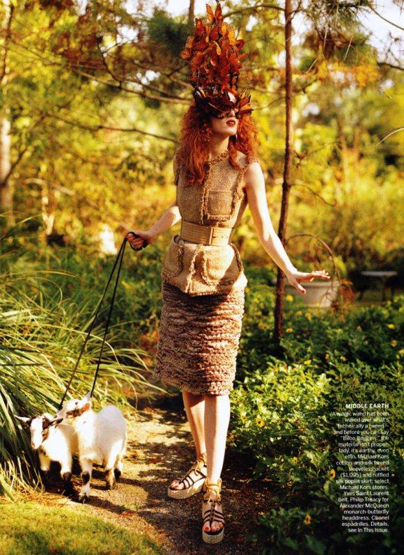 Karen Elson Vogue US March 2011 4