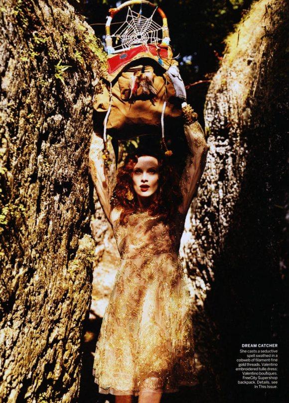 Karen Elson Vogue US March 2011 6