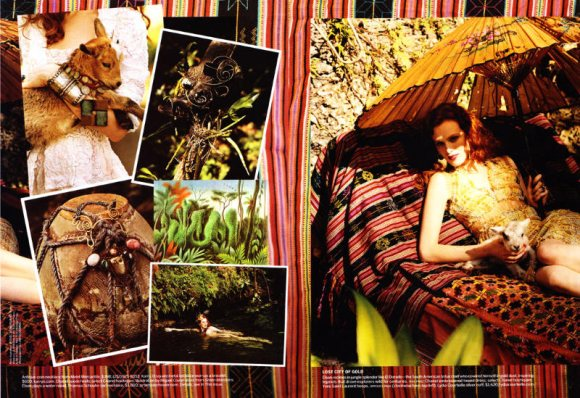 Karen Elson Vogue US March 2011 7