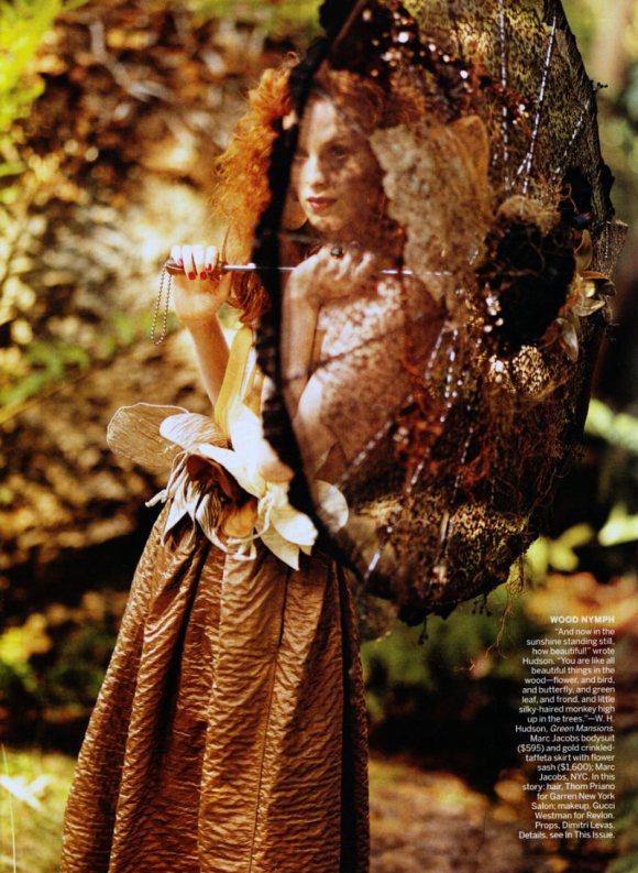 Karen Elson Vogue US March 2011 8