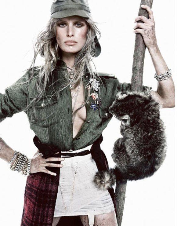 Karolina Kurkova Vogue Spain January 2011 2