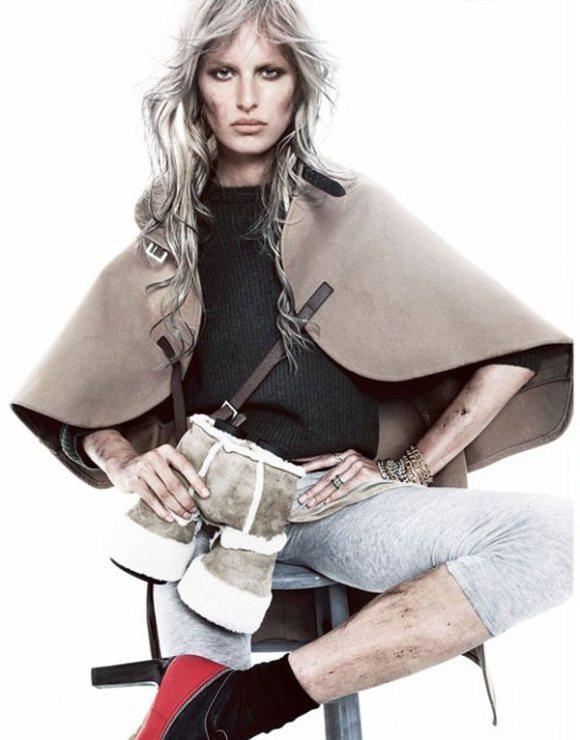 Karolina Kurkova Vogue Spain January 2011 4