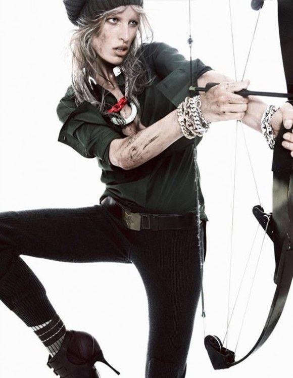 Karolina Kurkova Vogue Spain January 2011 5