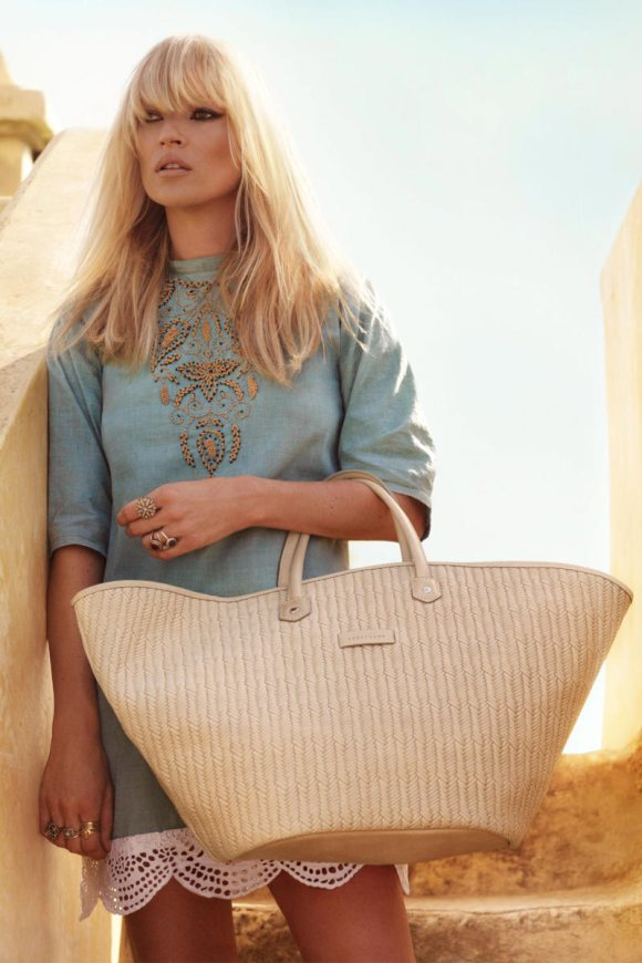 Kate Moss Longchamp Spring 2011 Campaign 2
