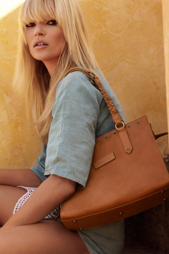 Kate Moss Longchamp Spring 2011 Campaign 3