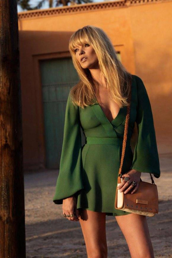 Kate Moss Longchamp Spring 2011 Campaign 4