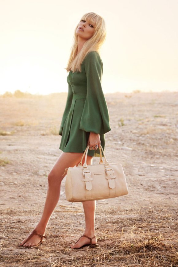 Kate Moss Longchamp Spring 2011 Campaign 5