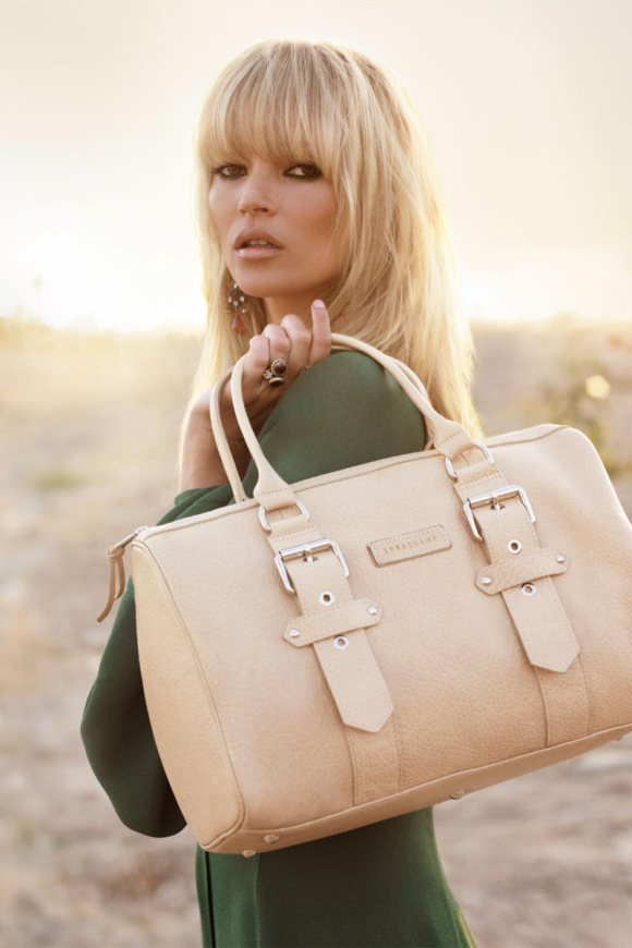 Kate Moss Longchamp Spring 2011 Campaign 6