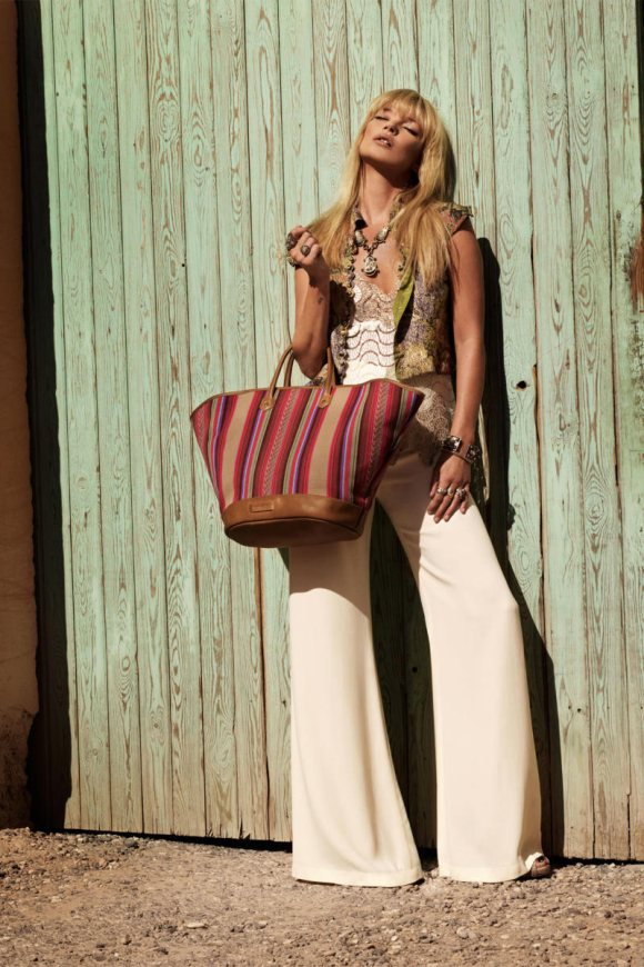 Kate Moss Longchamp Spring 2011 Campaign 7