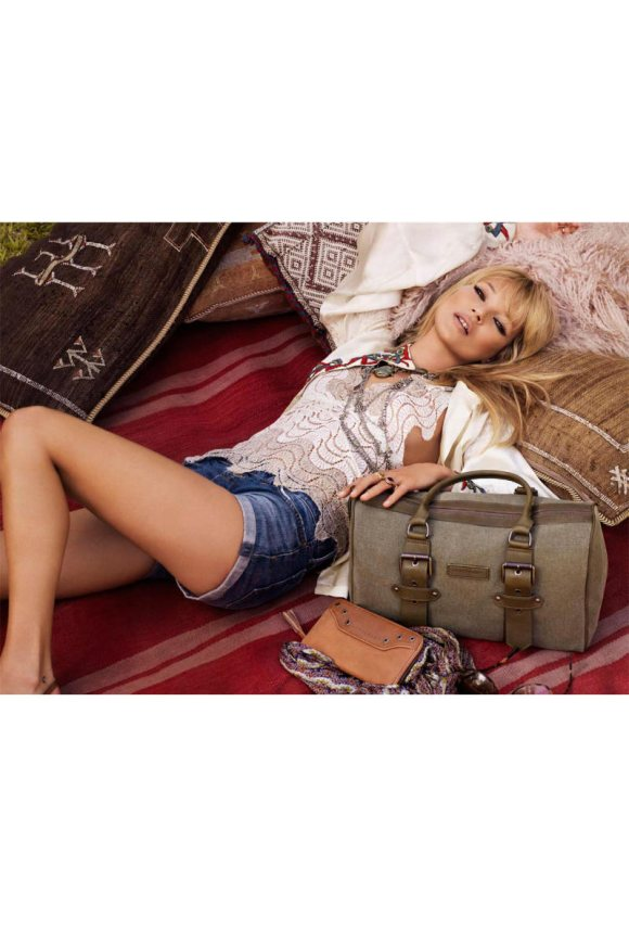 Kate Moss Longchamp Spring 2011 Campaign 8