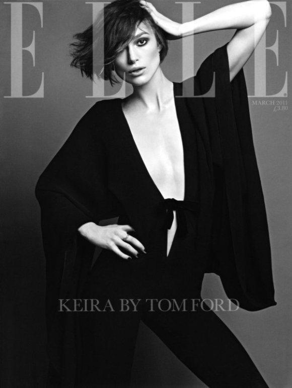 Keira Knightley Elle UK March 2011