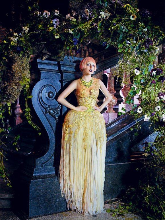 Lady Gaga Vogue US March 2011 3