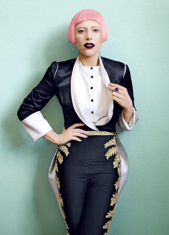 Lady Gaga Vogue US March 2011 4