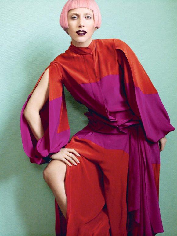 Lady Gaga Vogue US March 2011 5