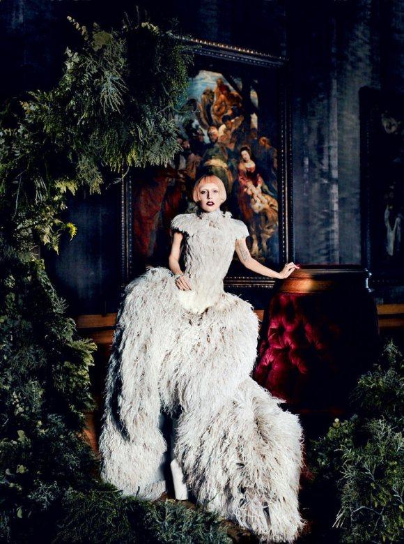 Lady Gaga Vogue US March 2011 7