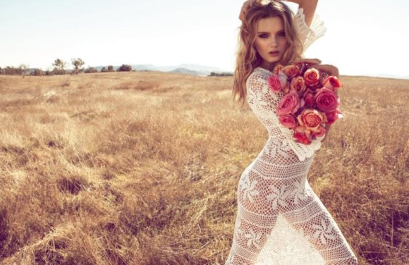 Lily Donaldson Monsoon Spring 2011 Campaign 1