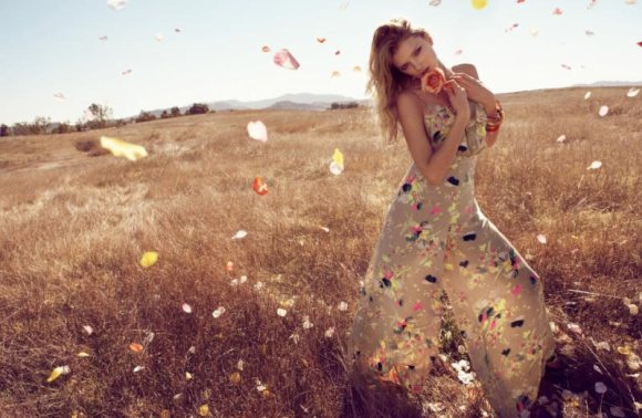 Lily Donaldson Monsoon Spring 2011 Campaign 3