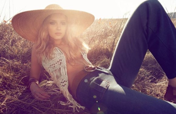 Lily Donaldson Monsoon Spring 2011 Campaign 4