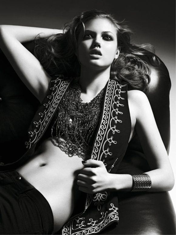 Lindsey Wixson Moussy Spring 2011 Campaign 4