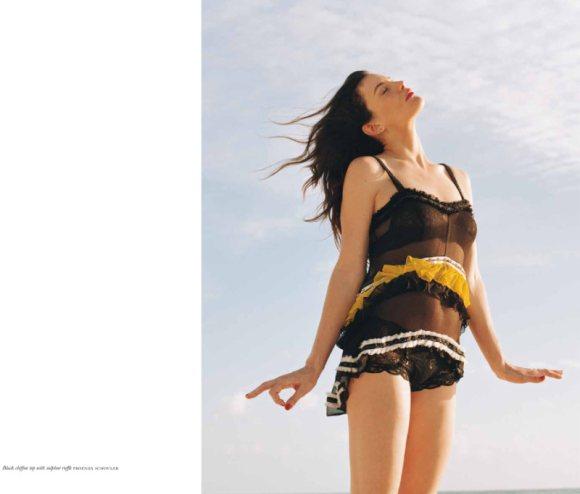 Liv Tyler Purple Fashion S S 2011 4