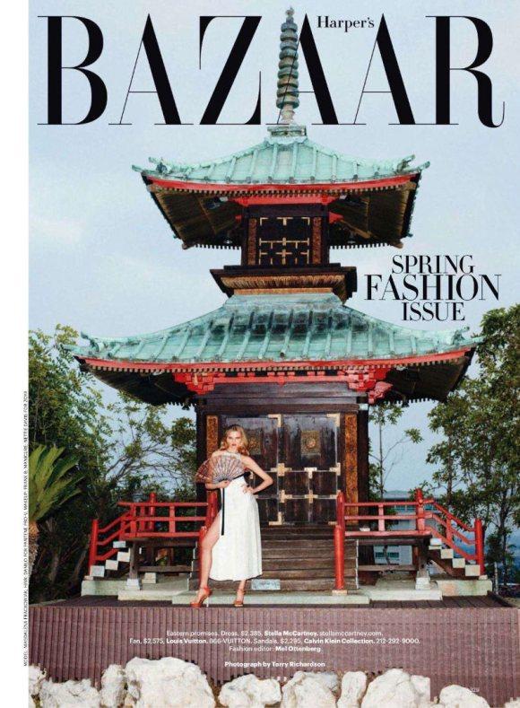 Magdalena Frackowiak Harpers Bazaar US March 2011 2
