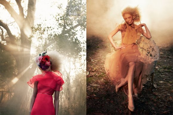 Melissa Tammerijn Vogue Italia February 2011 2