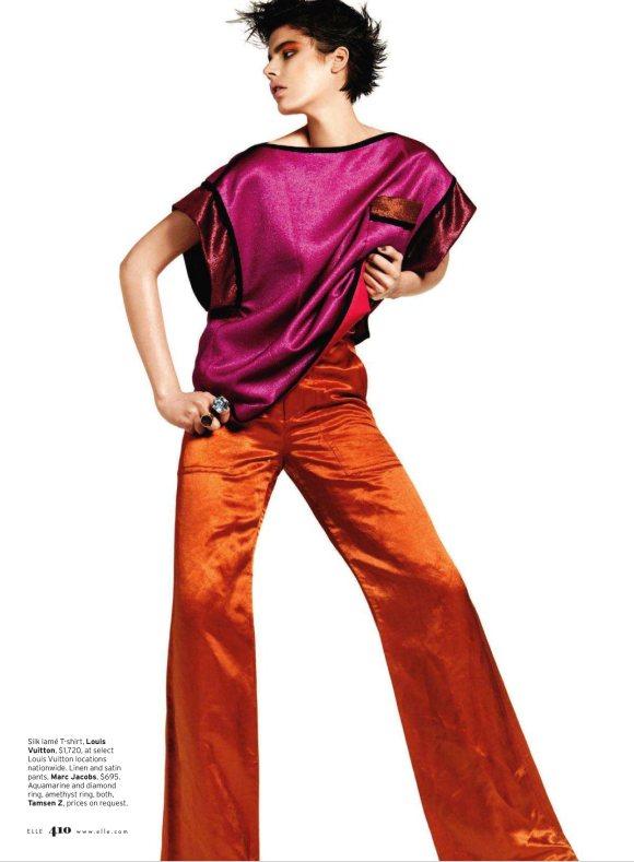 Milica Blagojevic Elle US March 2011 7