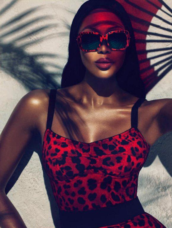Naomi Campbell Dolce Gabbana Animalier 2011 1