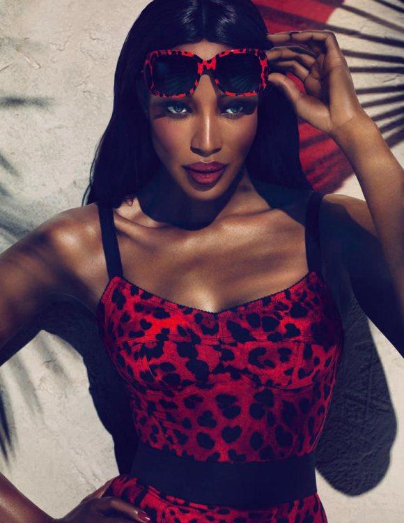 Naomi Campbell Dolce Gabbana Animalier 2011 2