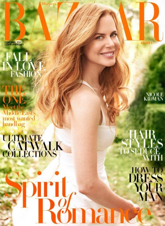 Nicole Kidman Harpers Bazaar Arabia March 2011