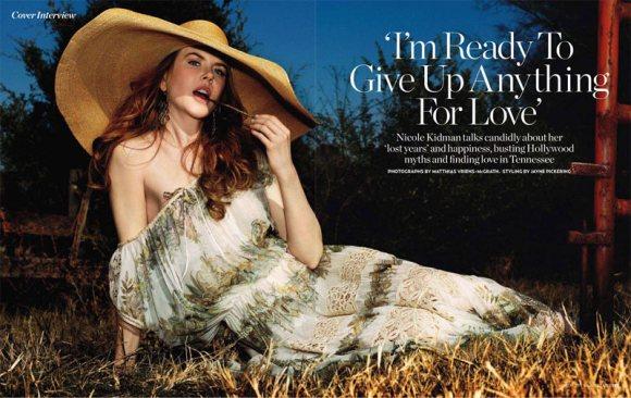 Nicole Kidman Marie Claire UK March 2011 2