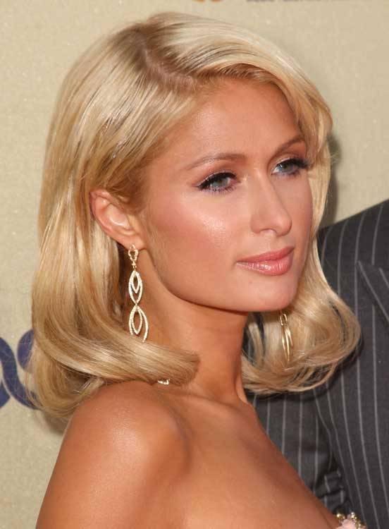 Paris hilton big earrings