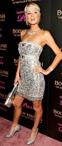 MTV Movie Awards 2012: Paris Hilton and Nikki Reed choose metallic