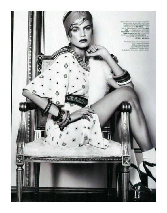 Regina Feoktistova Vogue Turkey February 2011 9