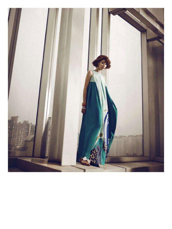 Sera Park Harpers Bazaar Korea February 2011 5