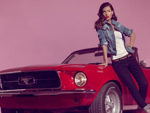 Sheila Marquez Blanco Jeans S 2011 Campaign 11
