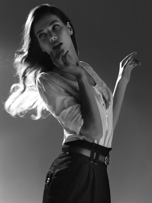 Sheila Marquez Blanco Jeans S 2011 Campaign 2