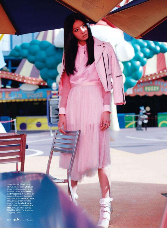 So Young Kang for Elle US March 2011 3