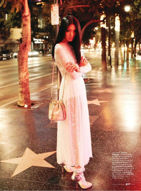 So Young Kang for Elle US March 2011 4