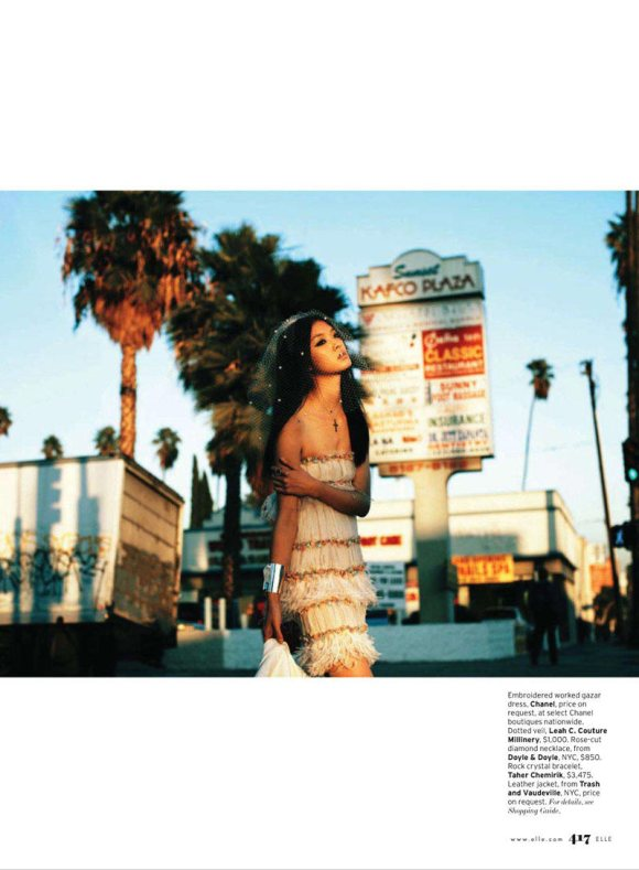 So Young Kang for Elle US March 2011 6