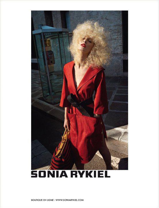 Sonia Rykiel Spring 2011 Campaign 1
