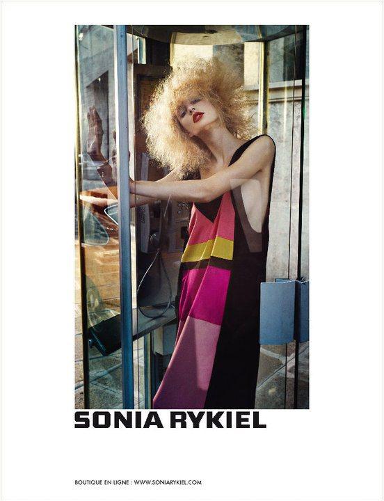 Sonia Rykiel Spring 2011 Campaign 3