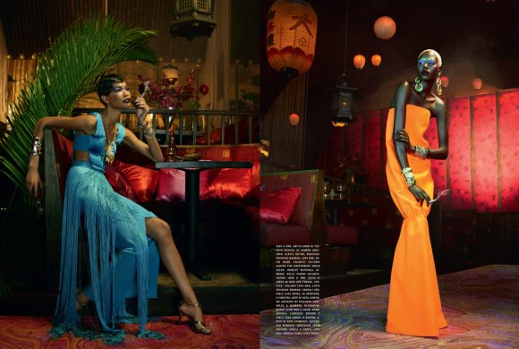 The Black Allure Vogue Italia February 2011