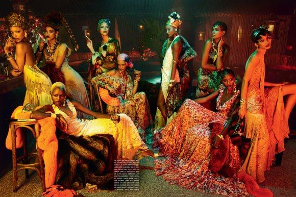 The Black Allure Vogue Italia February 2011 2