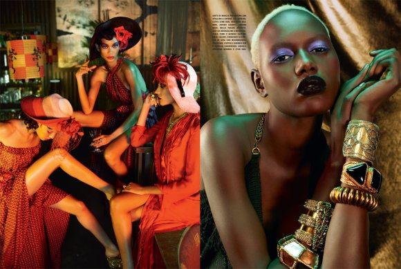 The Black Allure Vogue Italia February 2011 6