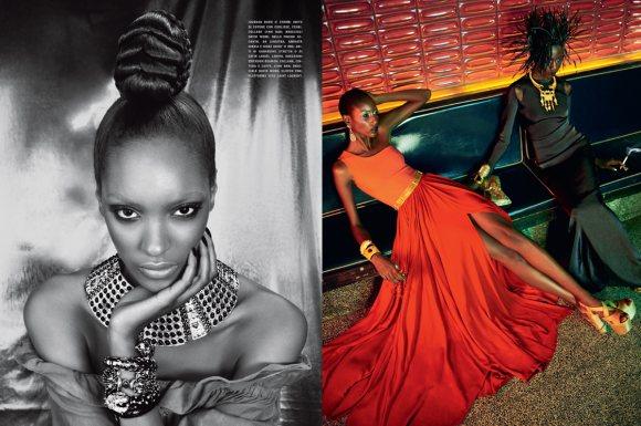 The Black Allure Vogue Italia February 2011 8